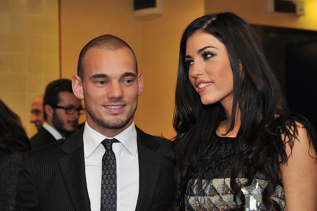 most beautiful football wags