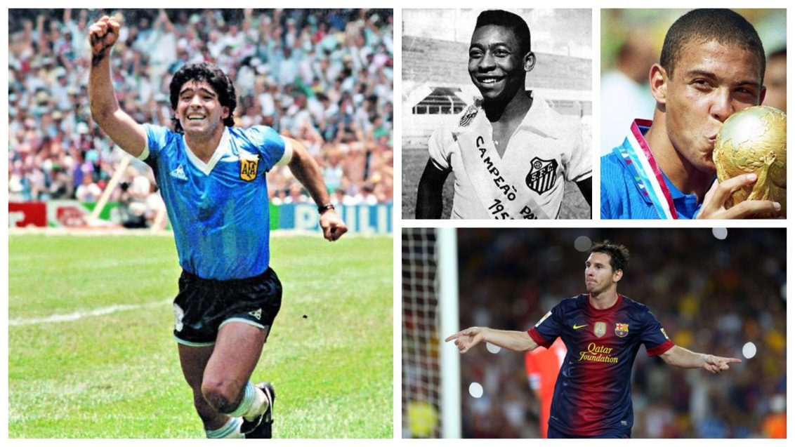 Best Strikers Of All Time! - 1SPORTS1