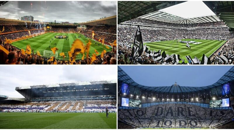 Premier League stadiums ranked by their capacity
