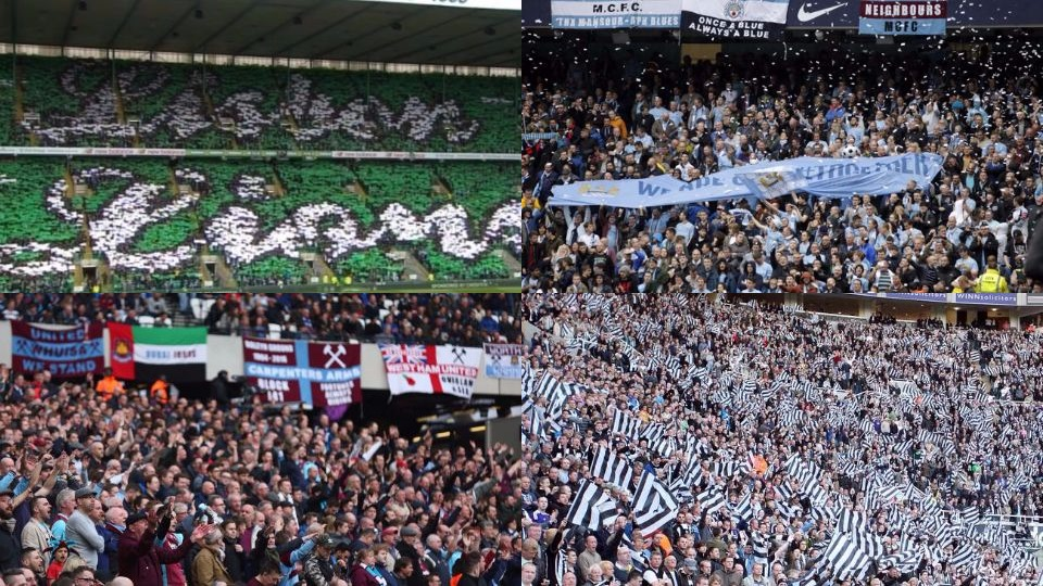 most passionate football fan bases in UK