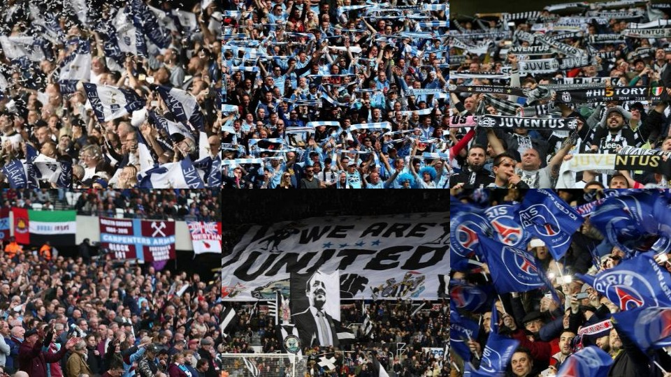 top 20 European clubs in order of season ticket prices