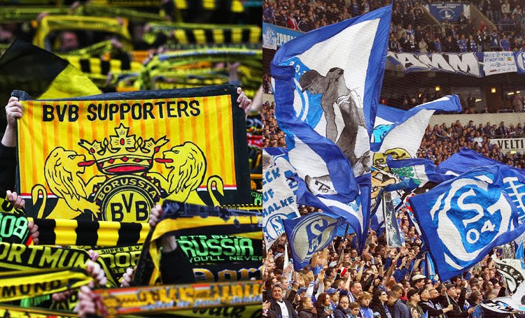 biggest rivalries in German football