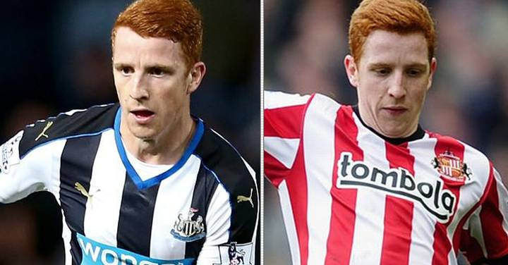 played for both Newcastle and Sunderland