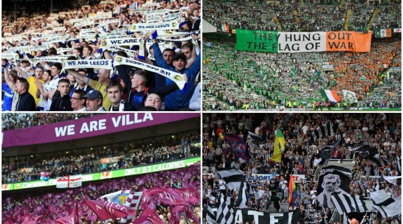 best stadiums in UK according to atmosphere