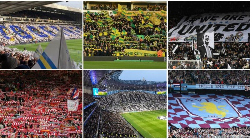 ranking the Premier League stadiums on atmosphere