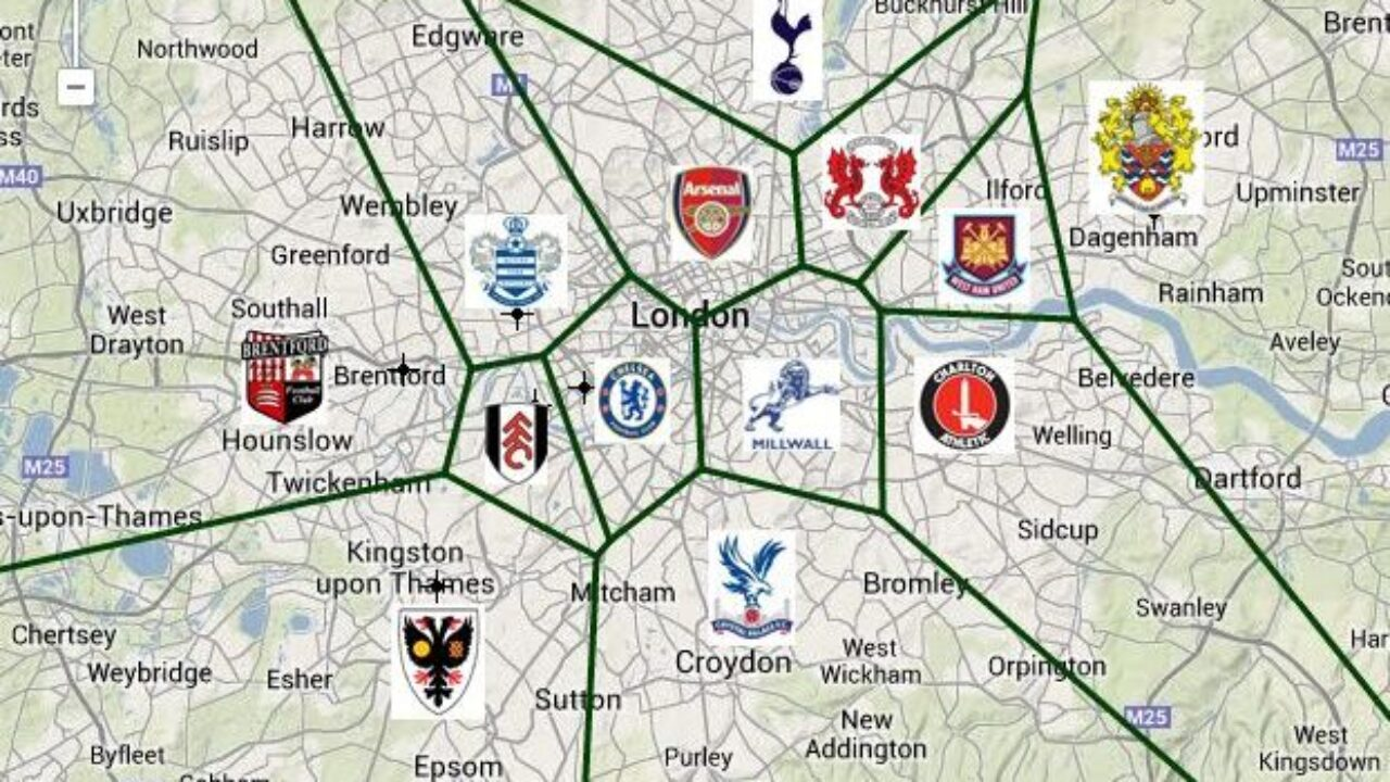 Biggest Football Clubs In London - Top 10 - 1SPORTS1