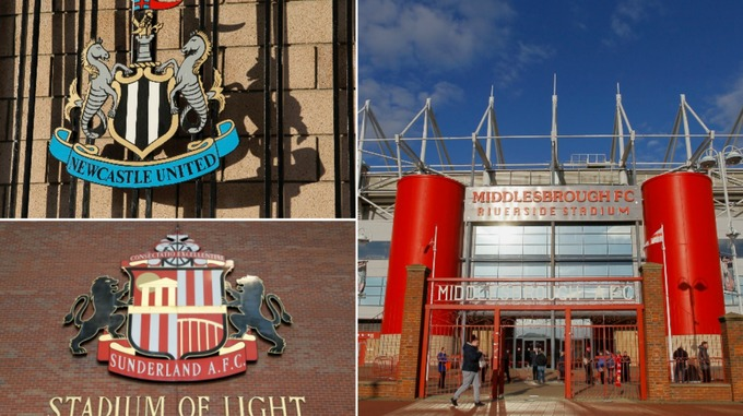Biggest Football Clubs In North-East England