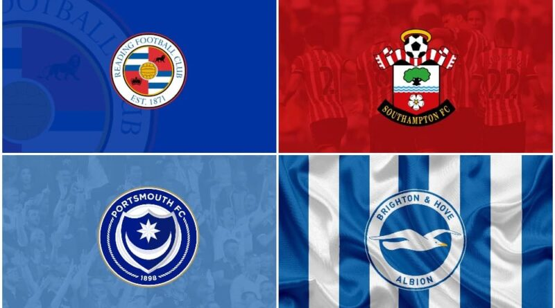 biggest football clubs in South-East England