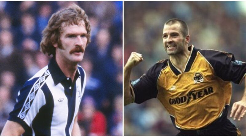 played for both Wolves and West Brom