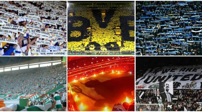 most passionate football fan bases in Europe