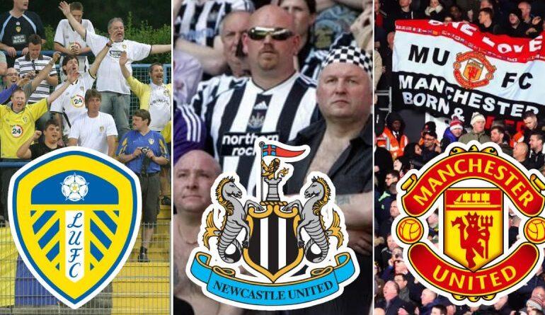 Premier League clubs away fans